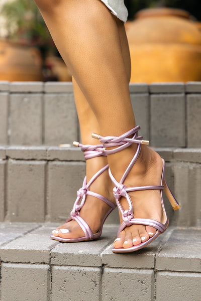 Love Knot-Pink Metallic
