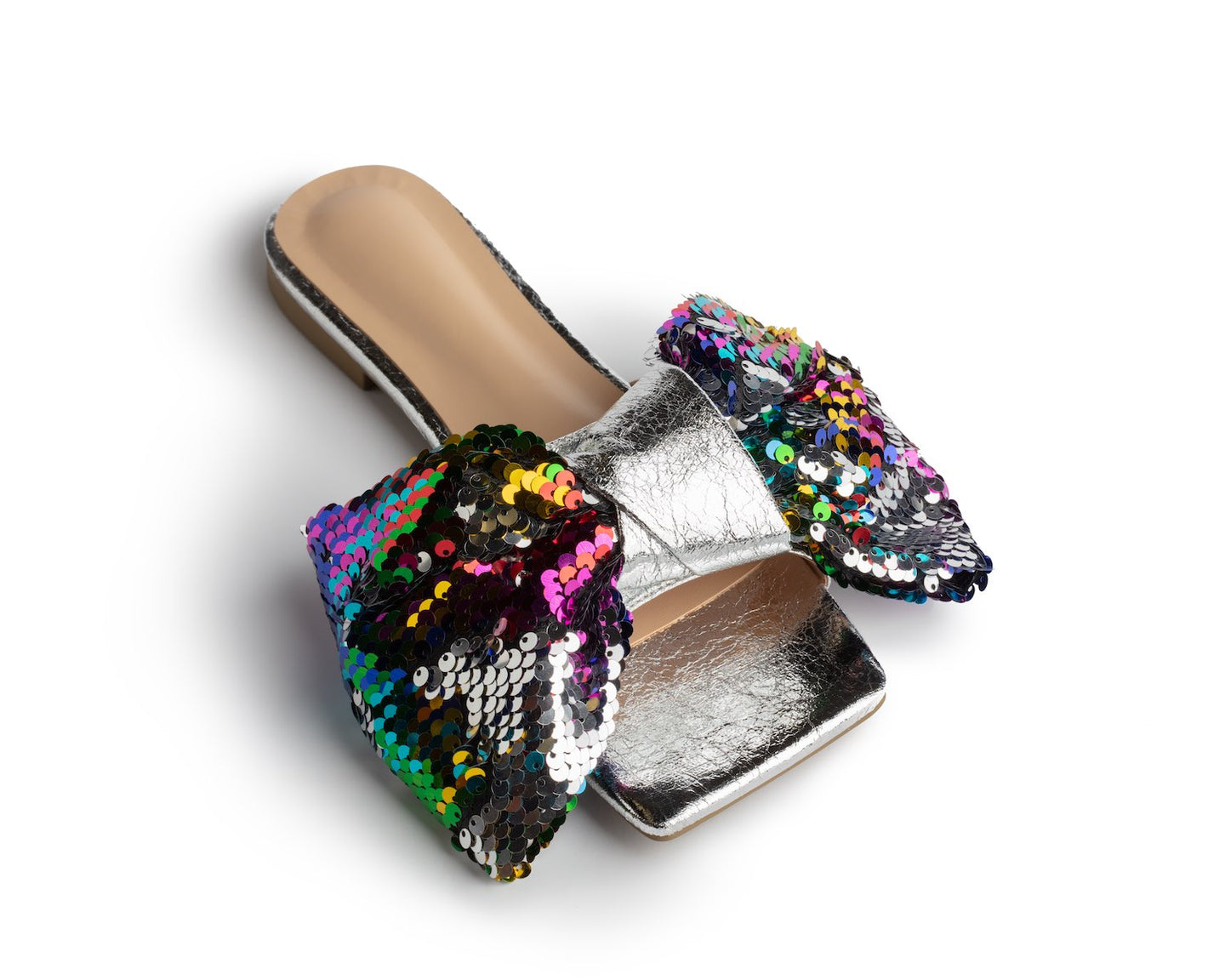 ICCONIC SLIDES MULTI SEQUIN