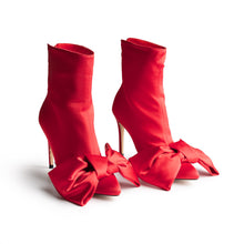 ICCONIC BOOT RED  SATIN