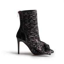 ICCONIC BOOT BLACK SEQUIN