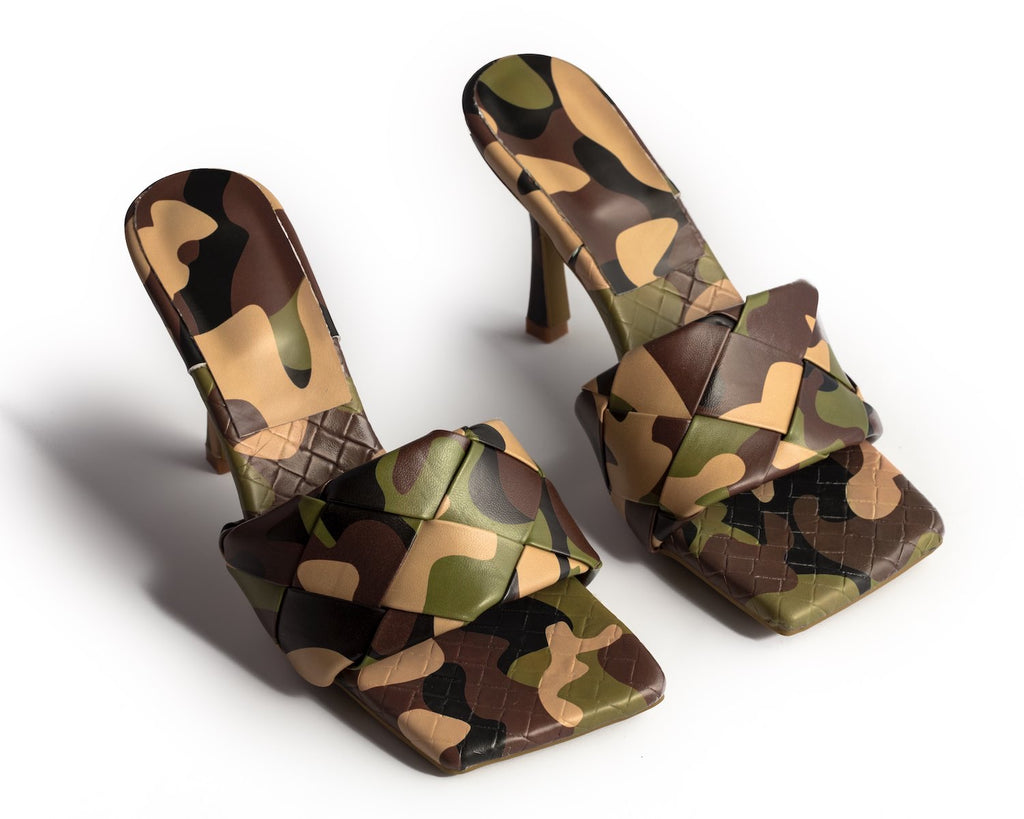 Quilted Mule-camo