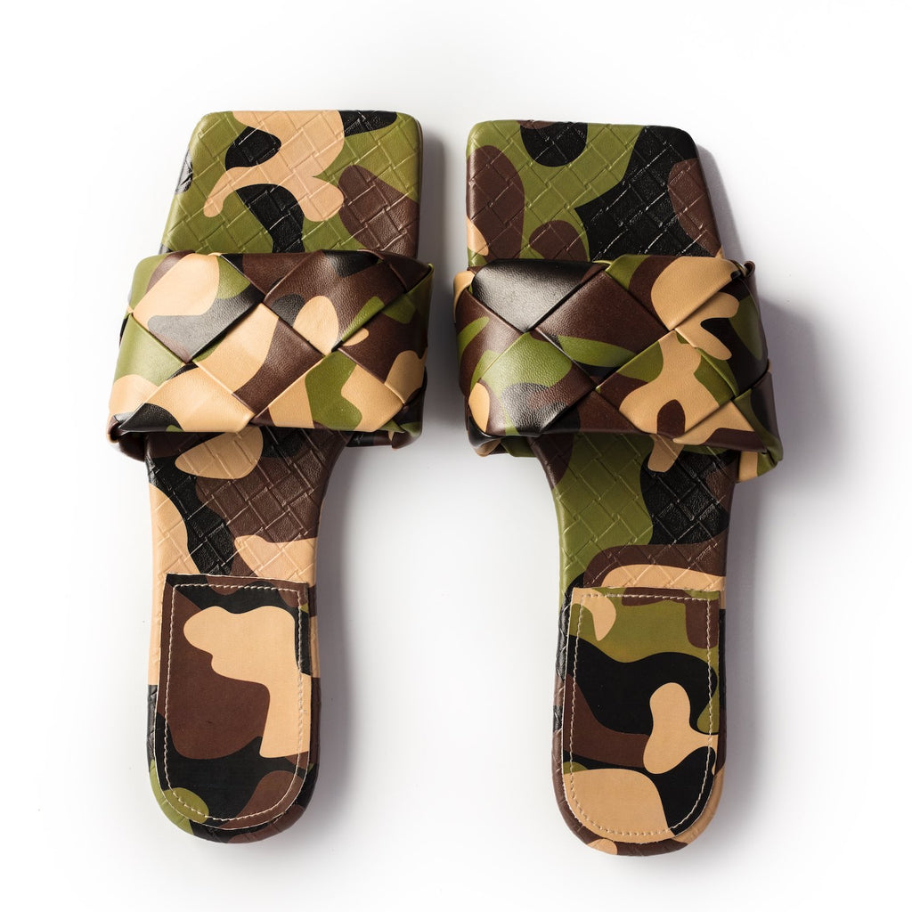 Quilted Slide-Camo