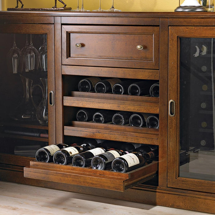 Wine Enthusiast Siena Wine Credenza 335-01-01 - Wine Coolers USA
