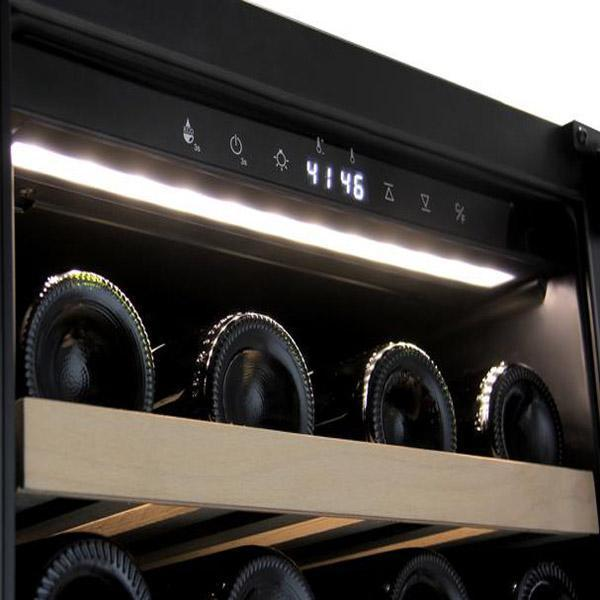 Allavino 43 Bottle Single Zone Wine Cooler Refrigerator - VIWR43-1SSRT - Wine Coolers USA