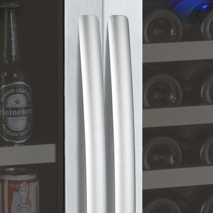 Allavino FlexCount Series Side-by-Side Wine & Beverage Center - Dual Zone 3Z-VSWB24-2SS - Wine Coolers USA
