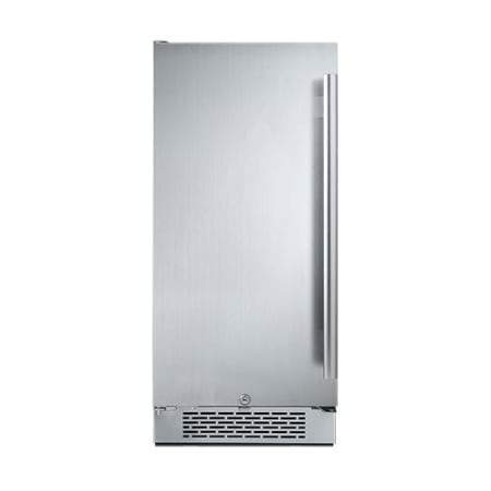 Avallon AFR151SSLH 3.3 Cu Ft Built-In Fridge - Left Hinge - Wine Coolers USA
