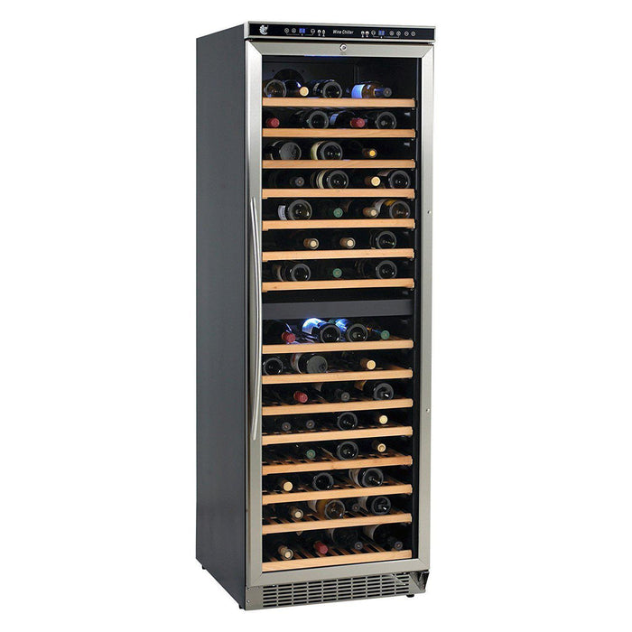 Avanti Wide Dual Zone Wine Cooler, 24-Inch WCR683DZD-2 - Wine Coolers USA
