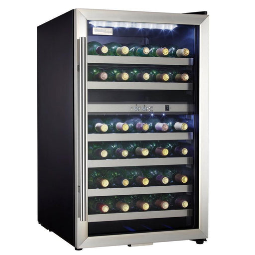 Danby 38-Bottle Dual Zone Wine Cooler - Stainless Steel Glass Door DWC114BLSDD - Wine Coolers USA
