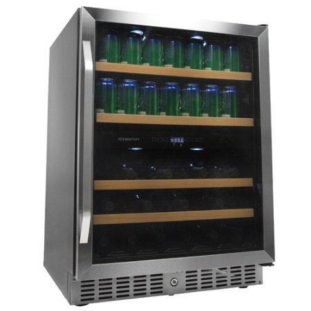 EdgeStar 24 Inch Built-In Wine and Beverage Cooler - CWB8420DZ - Wine Coolers USA