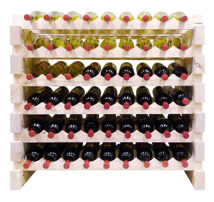 Vinotemp 108 Bottle Double Modular Wine Rack EP-4472-108 - Wine Coolers USA