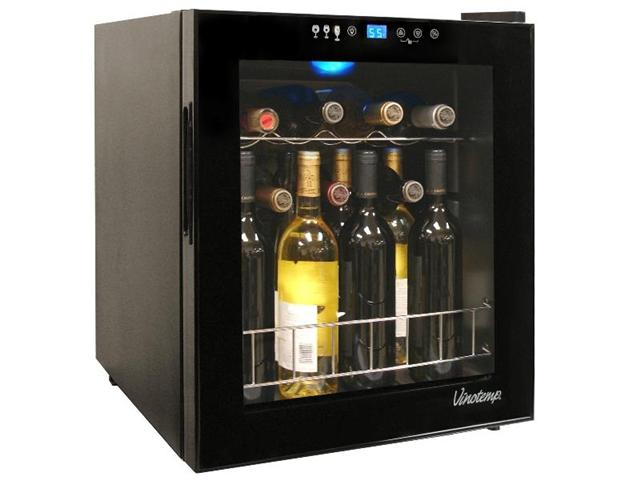 Vinotemp 15 Bottle Touchscreen Wine Cooler VT-15 TS - Wine Coolers USA