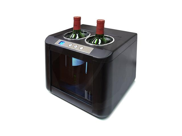Vinotemp 2-Bottle Thermoelectric Open Wine Cooler IL-OW002 - Wine Coolers USA