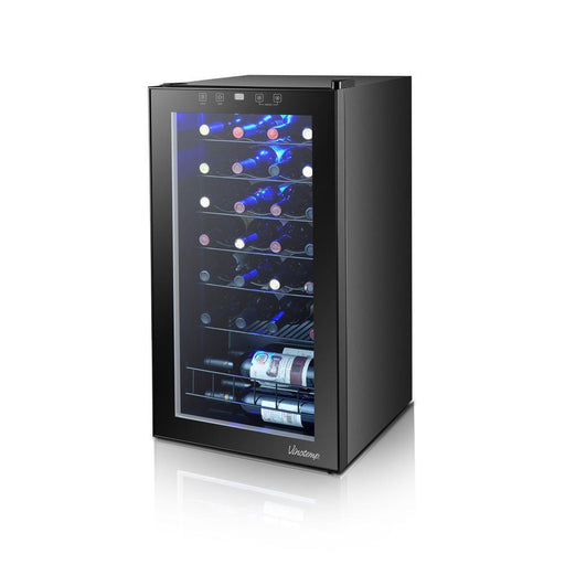 Vinotemp 28 Bottle Touch Screen Wine Cooler VT-28TS - Wine Coolers USA
