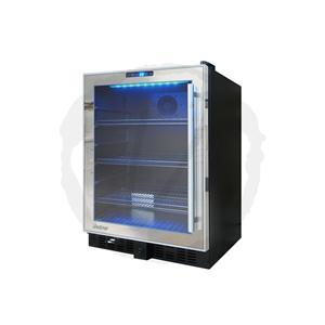 Vinotemp-54 Mirrored Touch Screen Beverage Cooler-Beverage Center-Wine Coolers USA