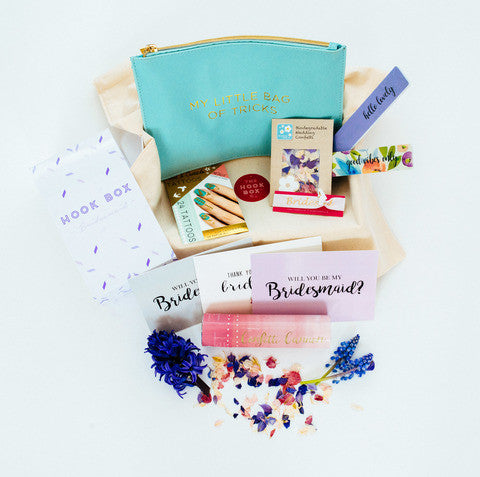 Bridesmaid gift box by Hook Box
