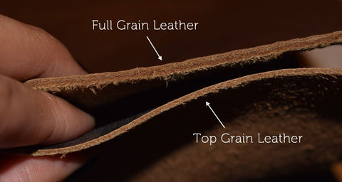 Full Grain vs Top Grain
