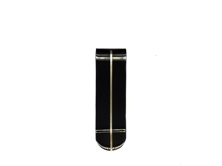 Lined Money Clip - Black Money Clip - Urban State Indonesia