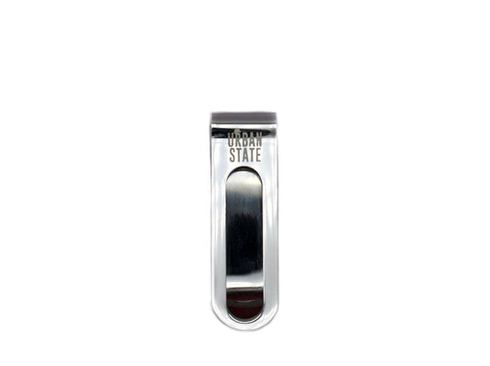 Lined Money Clip - Silver Money Clip - Urban State Indonesia