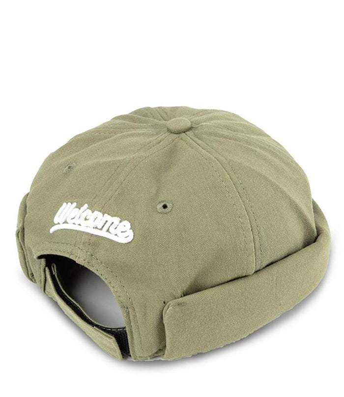 Welcome Brimless Baseball Cap - Green Baseball Cap - Urban State Indonesia