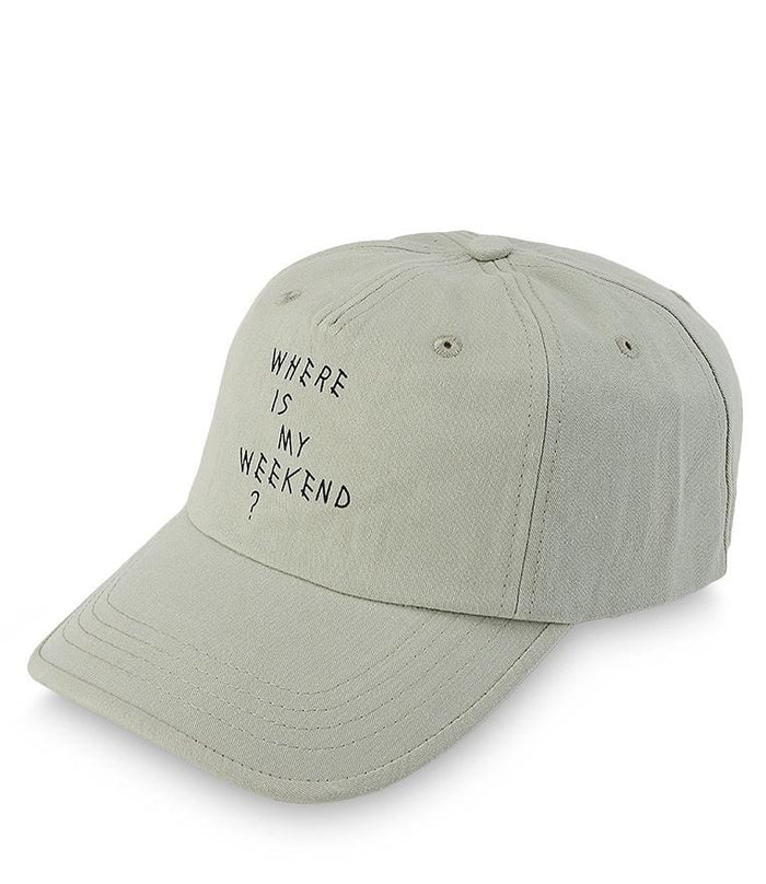 Where Weekend Baseball Cap - Green
