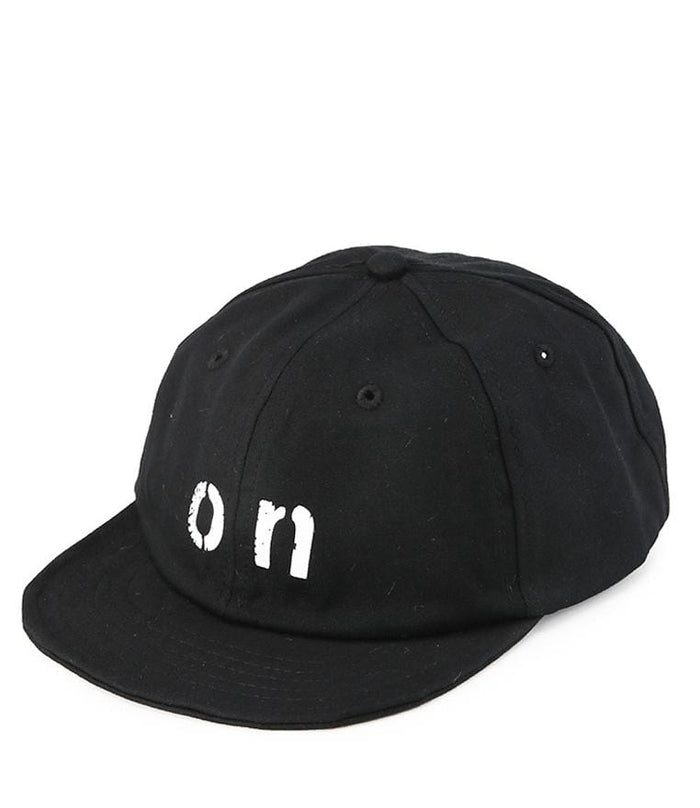 On Short Brim Baseball Cap - Black Baseball Cap - Urban State Indonesia