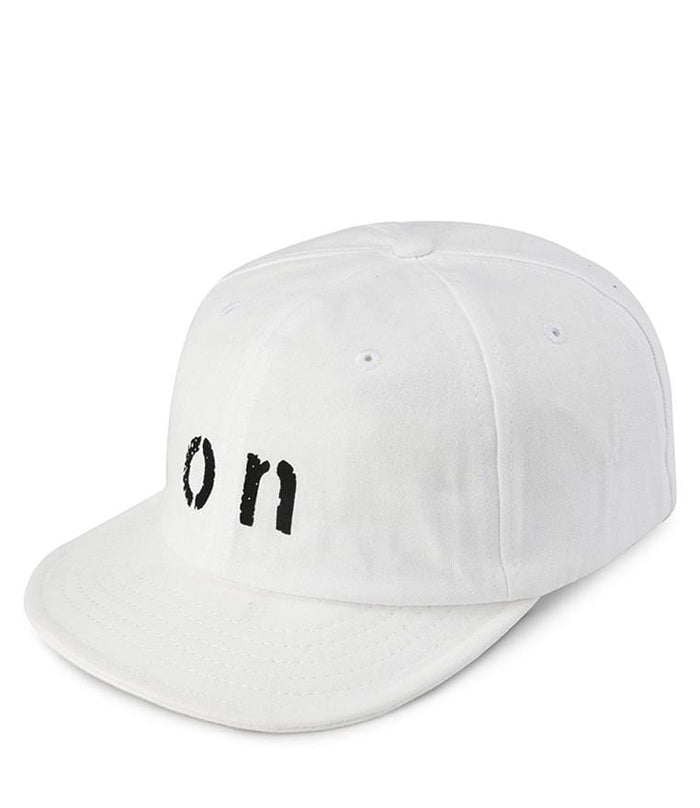 On Short Brim Baseball Cap - White Baseball Cap - Urban State Indonesia