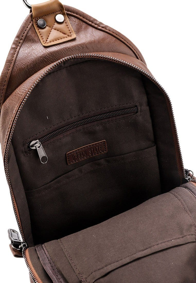 Pu Tactical Slingbag - Camel
