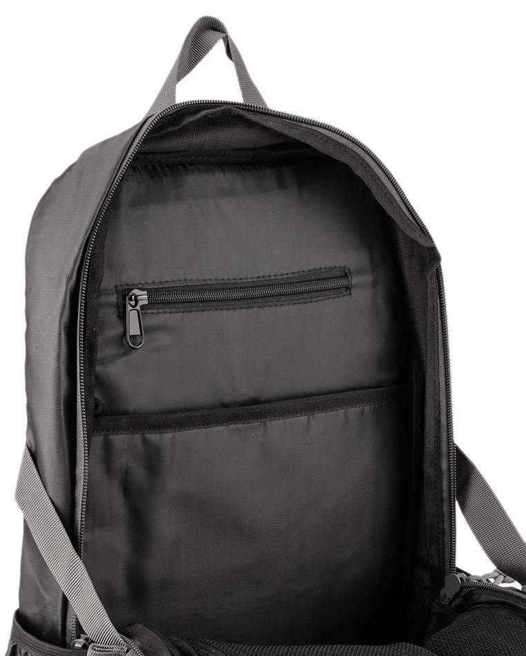 Poly Nylon Large Backpack - Black