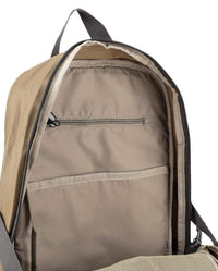 Poly Nylon Large Backpack - Brown