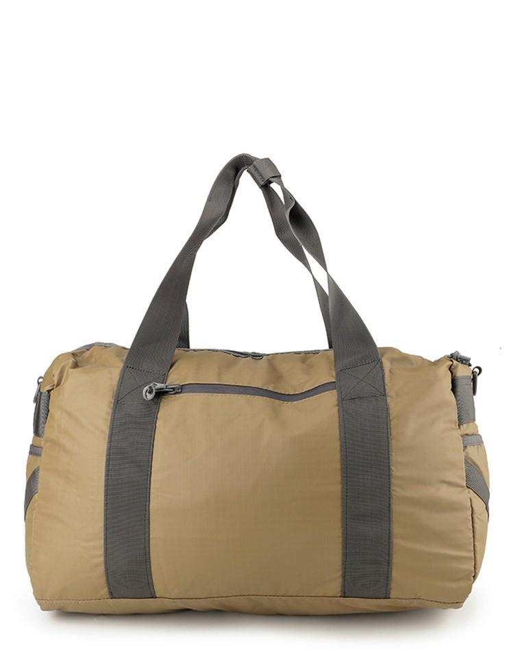 Poly Nylon Mesh Duffel Bag - Brown Duffel Bags - Urban State Indonesia