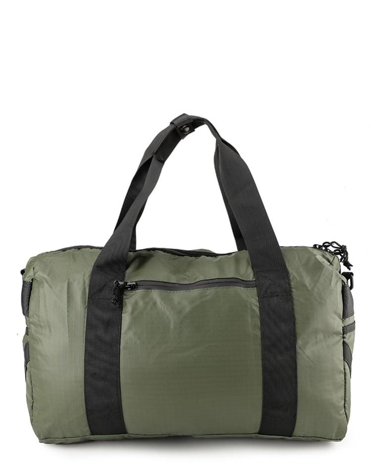 Poly Nylon Mesh Duffel Bag - Green