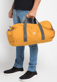 Poly Nylon Convertible Duffel Pouch - Mustard Duffel Bags - Urban State Indonesia
