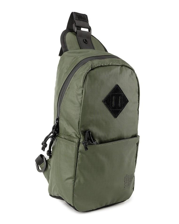 Poly Nylon Small Slingbag - Green