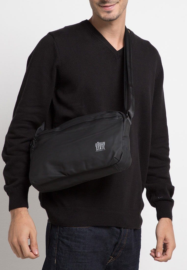 Coated Dry Camera Crossbody Bag - Black Messenger Bags - Urban State Indonesia