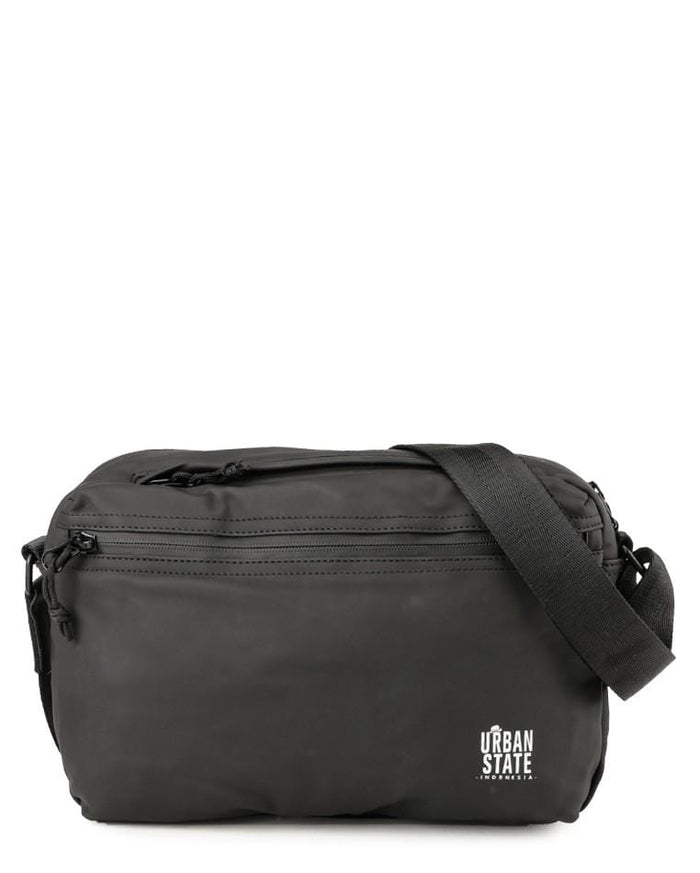 Coated Dry Camera Crossbody Bag - Black Waist Packs - Urban State Indonesia
