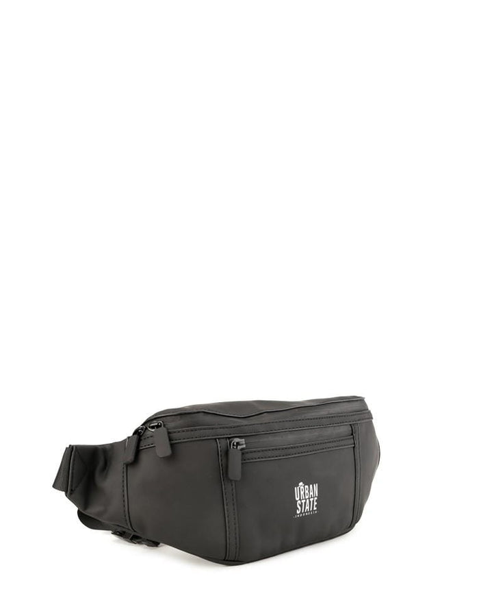 Coated Dry Curve Waistpack - Black Waist Packs - Urban State Indonesia