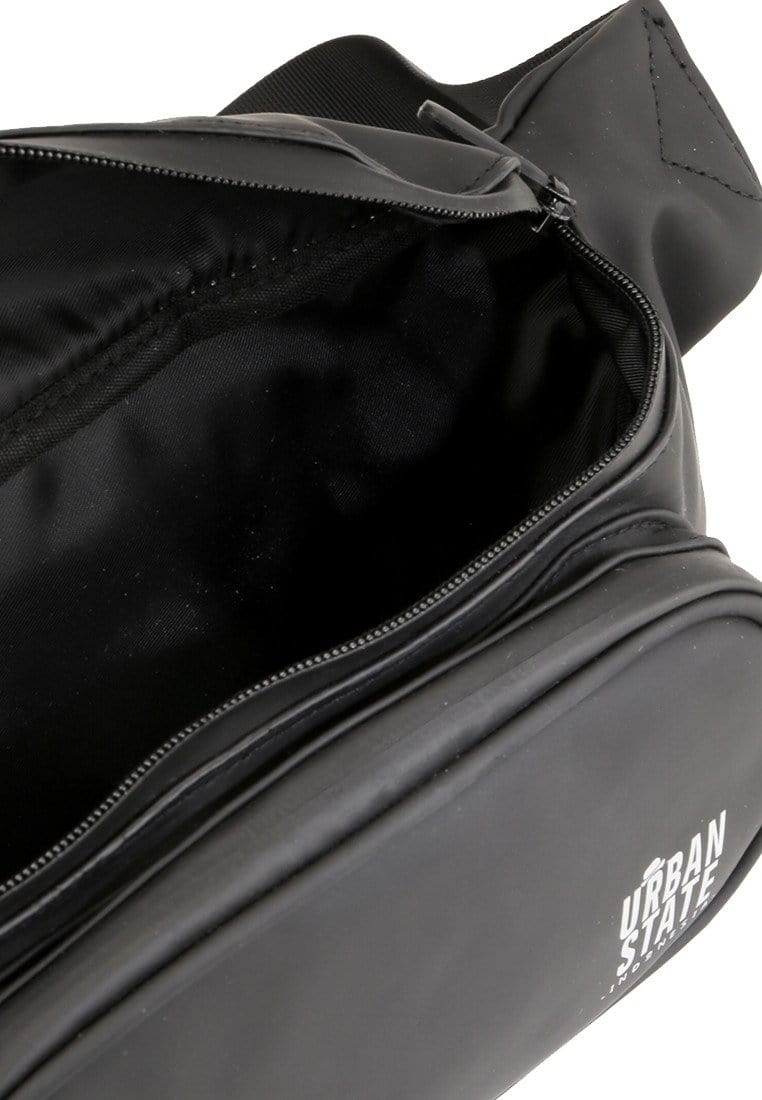 Coated Dry Square Waistpack - Black Waist Packs - Urban State Indonesia
