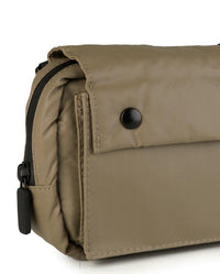 Poly Nylon Shoulder Pouch - Brown Messenger Bags - Urban State Indonesia