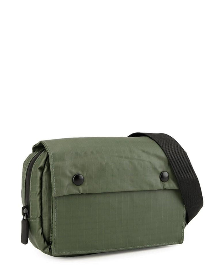 Poly Nylon Shoulder Pouch - Green