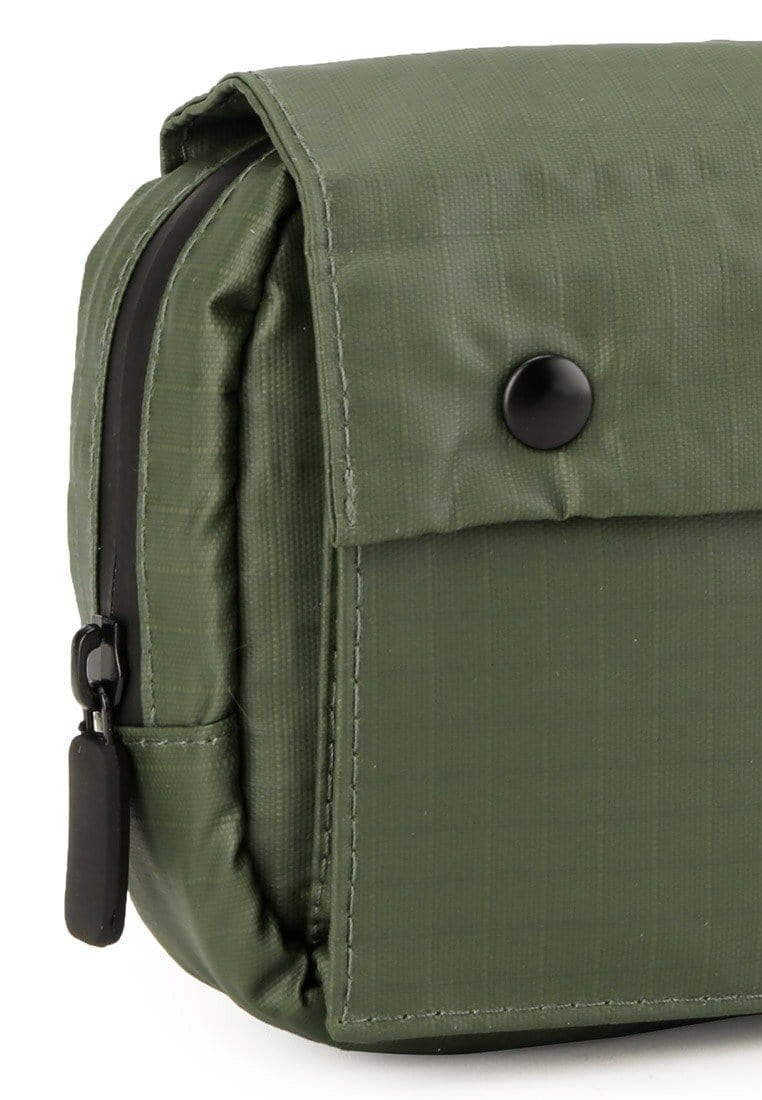 Poly Nylon Shoulder Pouch - Green Messenger Bags - Urban State Indonesia