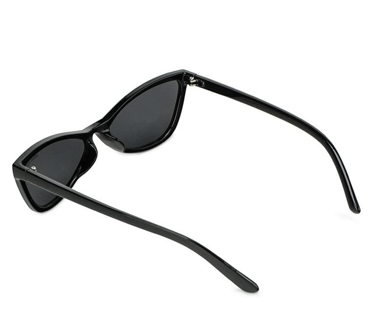 Pointed Cat Eye Sunglasses - Black Black Sunglasses - Urban State Indonesia