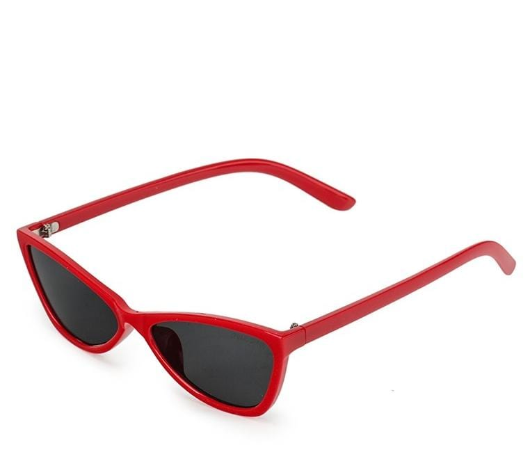 Pointed Cat Eye Sunglasses - Black Red Sunglasses - Urban State Indonesia