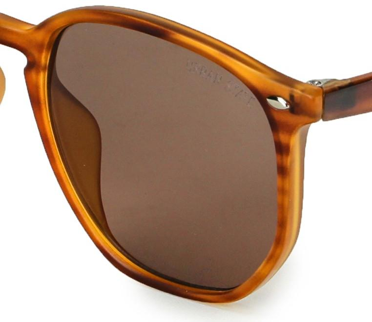 Retro Fashion Edge Sunglasses - Brown Leopard