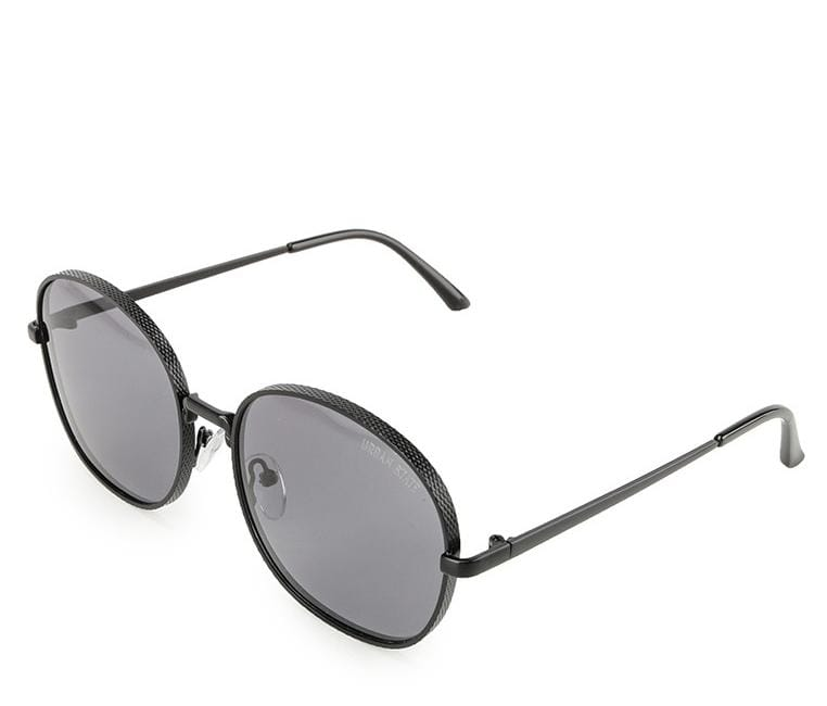 Polarized Retro Vintage Sunglasses - Black Black