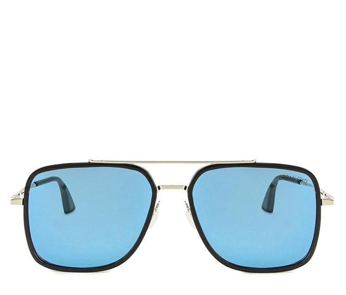 Polarized Flight 006 Sunglasses- Blue Black