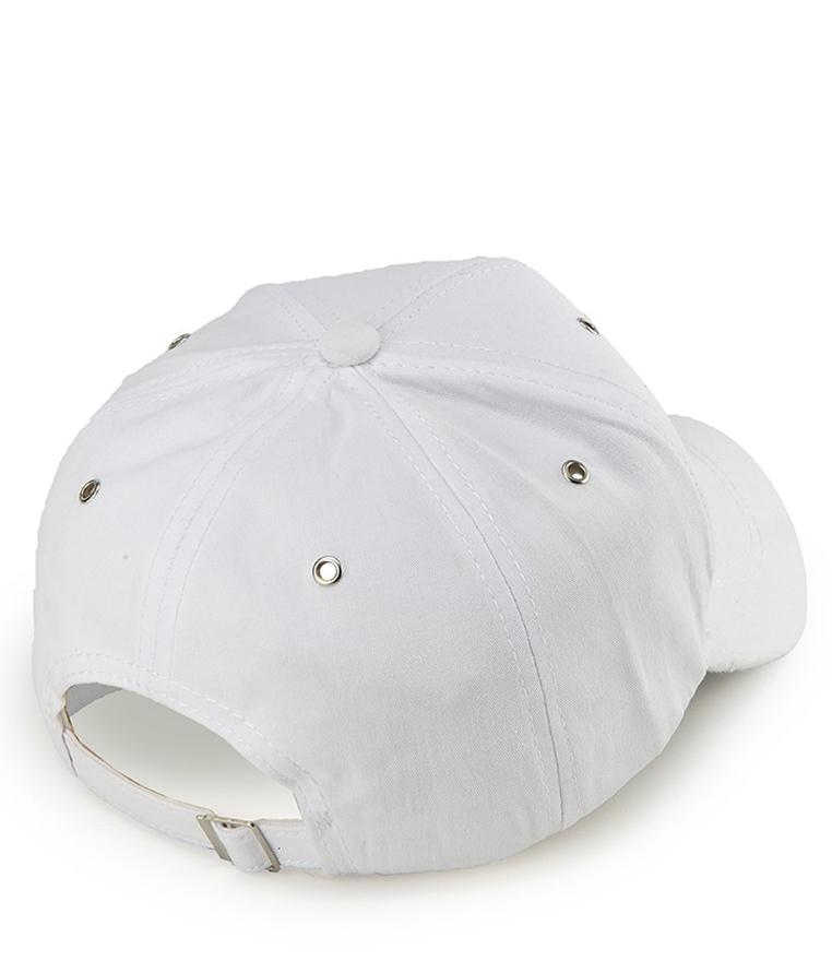 Cut Off Baseball Cap - White Baseball Cap - Urban State Indonesia
