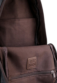 Canvas PU Panel Slingbag - Black Slingbags - Urban State Indonesia