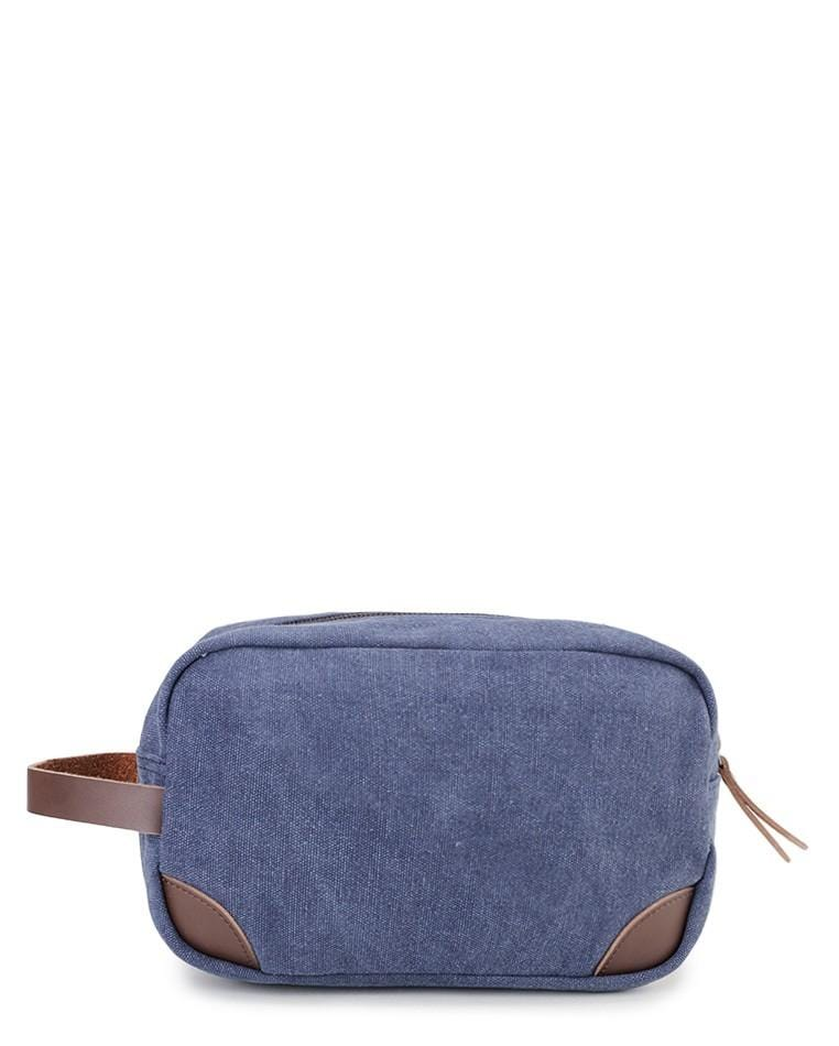 Canvas PU Original Pouch - Navy Clutch - Urban State Indonesia
