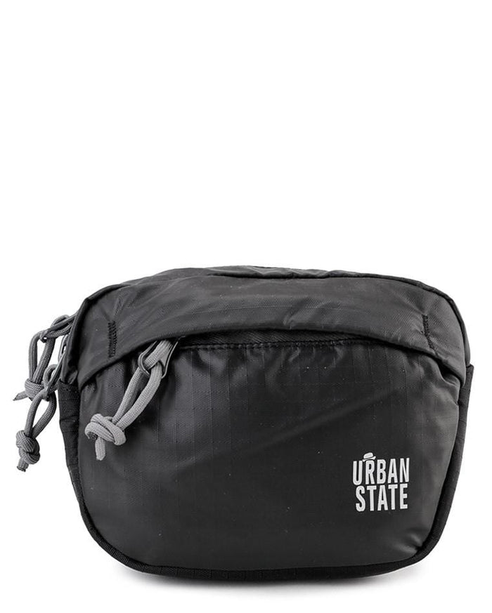 Poly Nylon Mini Waistpack - Black Waist Packs - Urban State Indonesia