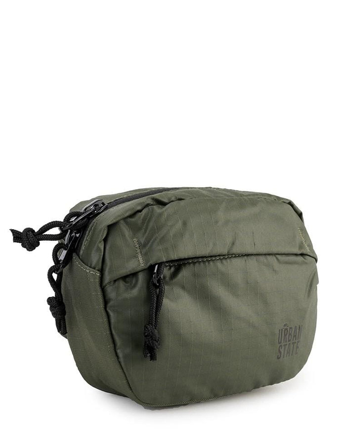 Poly Nylon Mini Waistpack - Green Waist Packs - Urban State Indonesia
